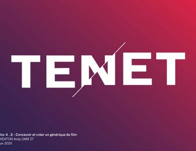 Générique de TENET